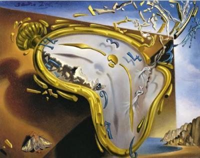 Salvador Dali 'Persistence of Memory'